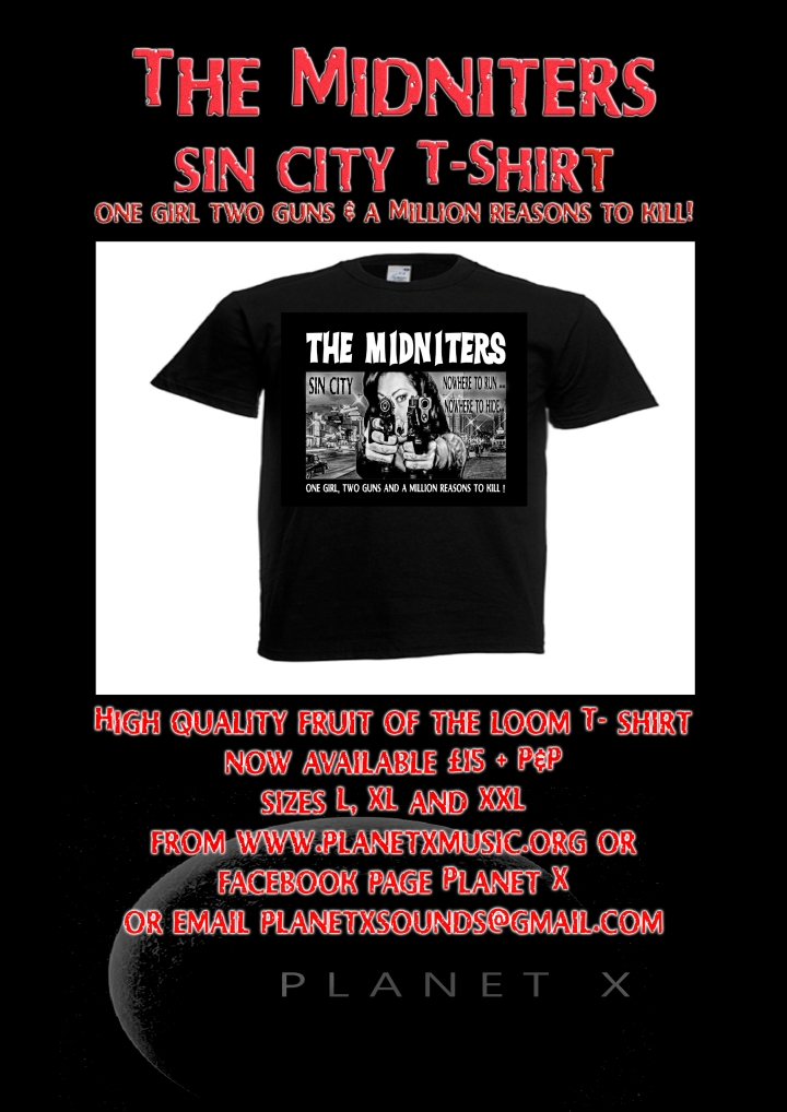 Midniters sin city T-shirt 1