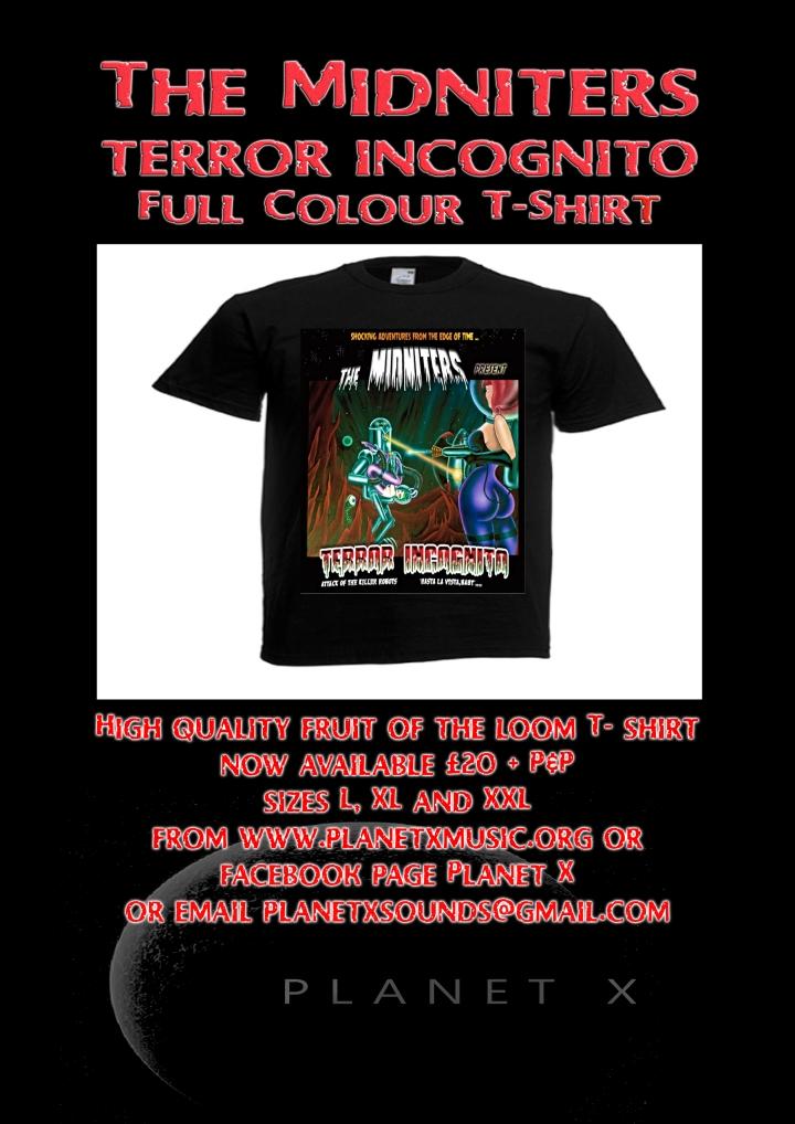 Midniters TI T-shirt 1